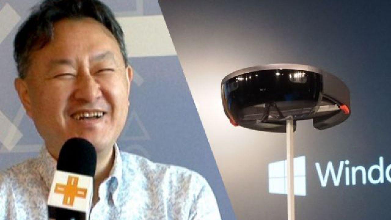 Anche Yoshida apprezza HoloLens