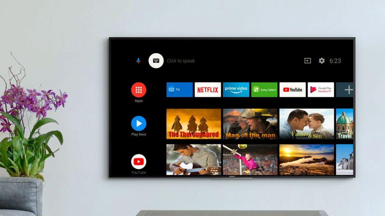 Android 9 arriverà negli Android TV Sony usciti tra 2016 e 2019: la lista completa