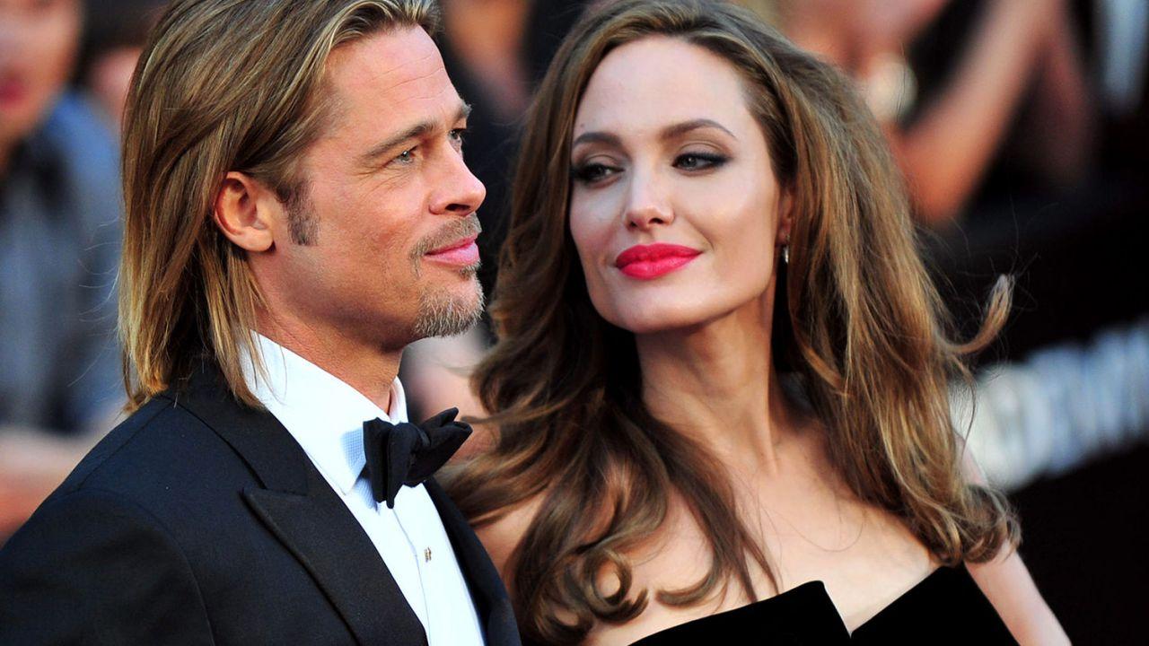 Angelina Jolie divorzia da Brad Pitt