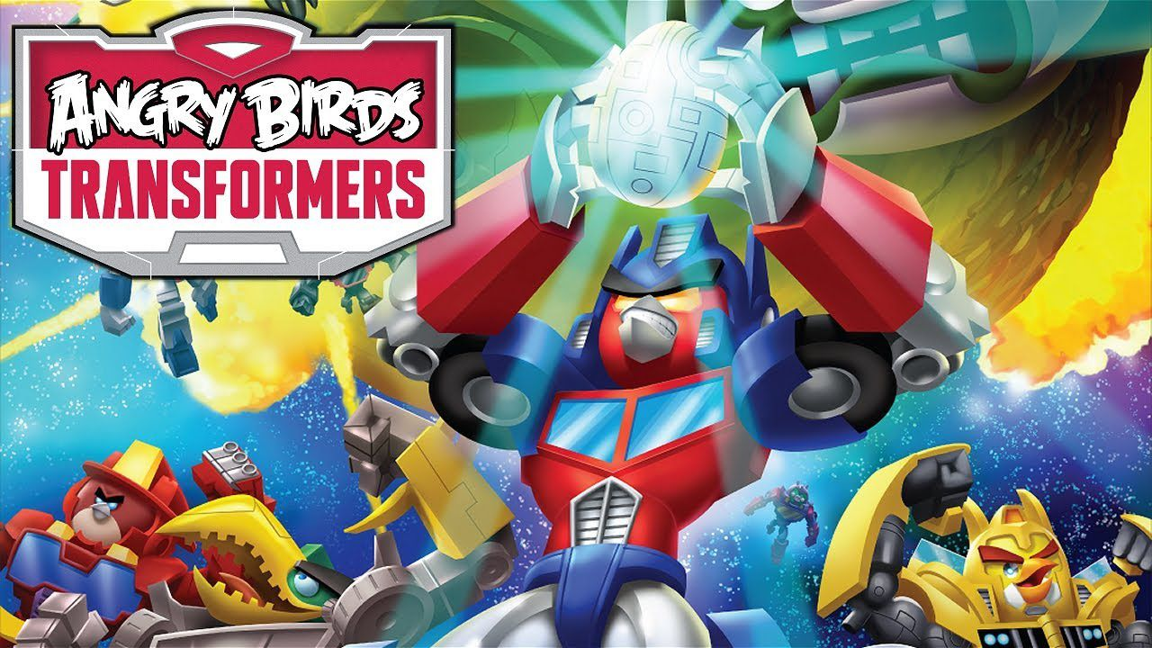 Angry Birds Transformers disponibile per il download