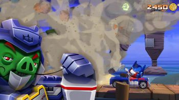 Angry Birds Transformers: primo video gameplay