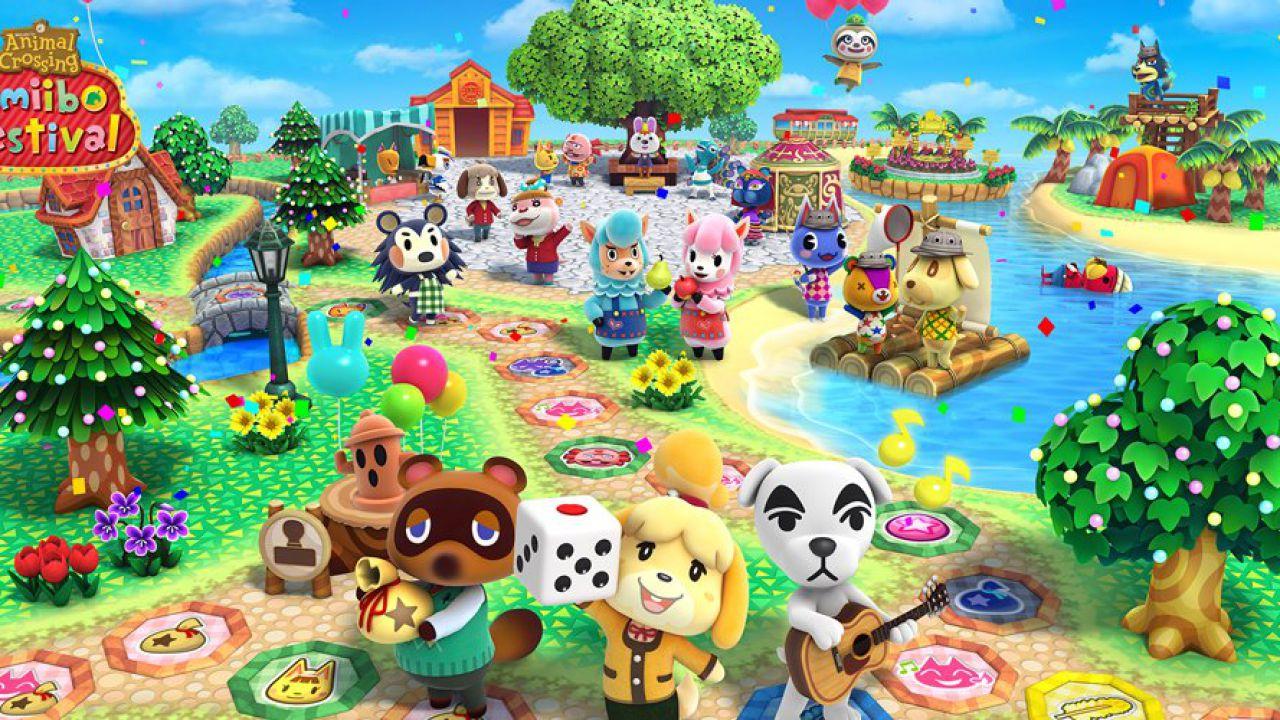Animal Crossing Amiibo Festival arriva in Italia a novembre