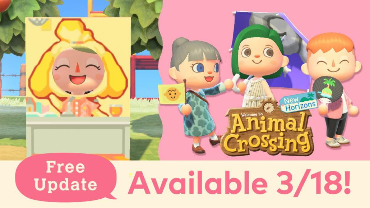 Animal Crossing New Horizons: 7 milioni di copie in Europa, i contenuti del nuovo update