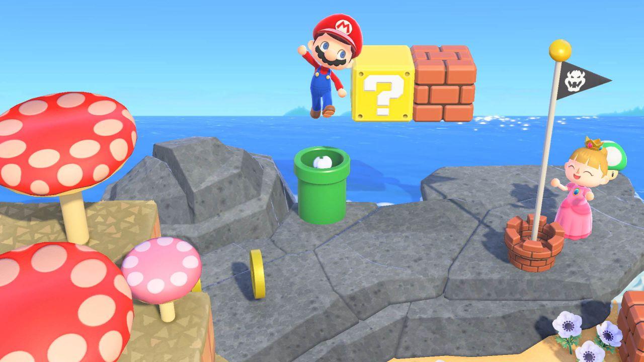 Animal Crossing New Horizons: come ottenere gli oggetti di Super Mario