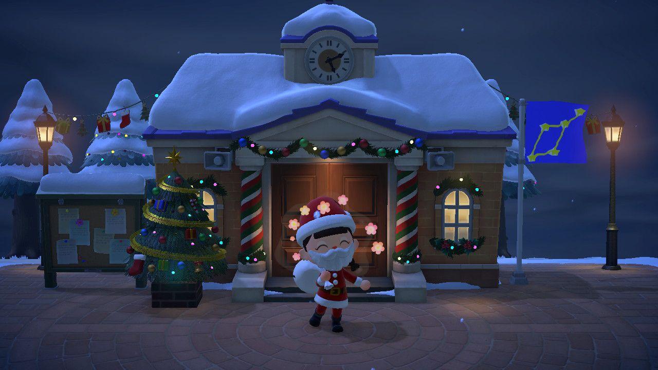Animal Crossing New Horizons: ecco come vestirsi da Babbo Natale