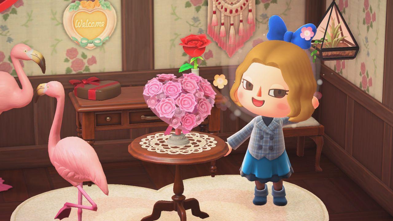 Animal Crossing New Horizons festeggia San Valentino: regali dagli abitanti dell'isola