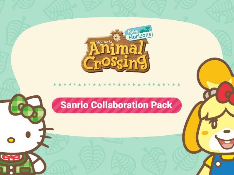 Animal Crossing New Horizons and Pocket Camp: Hello Kitty and Sanrio characters arrive