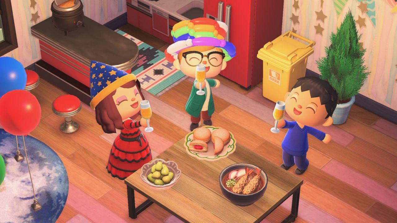 Animal Crossing New Horizons prepara il Capodanno: oggetti speciali disponibili