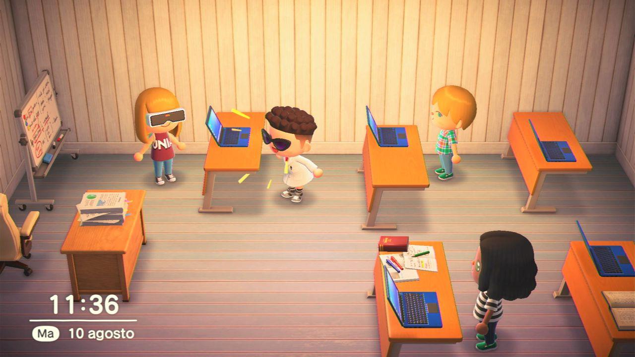 Animal Crossing New Horizons sale in cattedra: l'Università di Macerata arriva nel gioco
