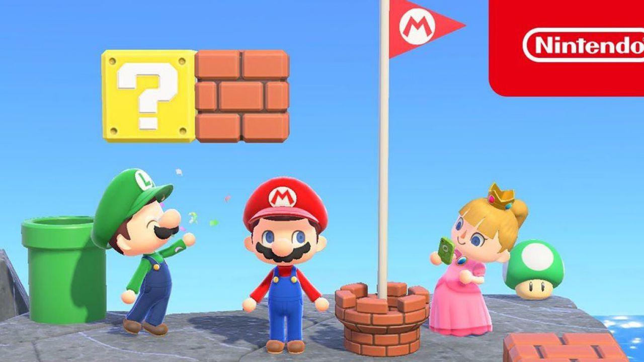 Animal Crossing New Horizons, tra Super Mario e San Patrizio: tutti i prossimi eventi