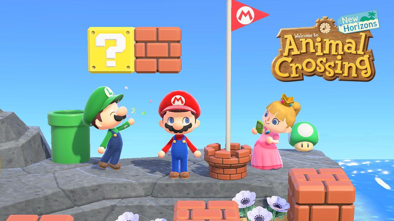 Animal Crossing New Horizons X Super Mario: disponibile l'aggiornamento gratis