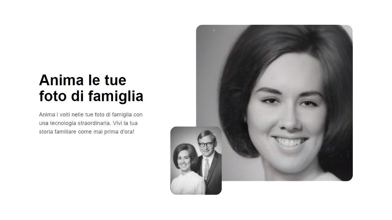 Animare le vecchie foto di famiglia tramite deepfake: i primi risultati degli utenti