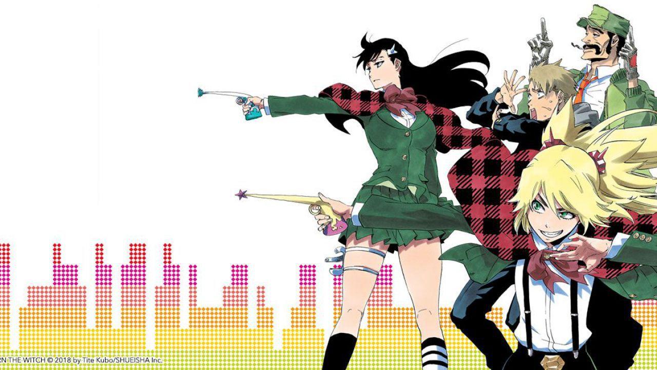 Anime e manga per Burn the Witch: informazioni dal nuovo progetto di Tite Kubo