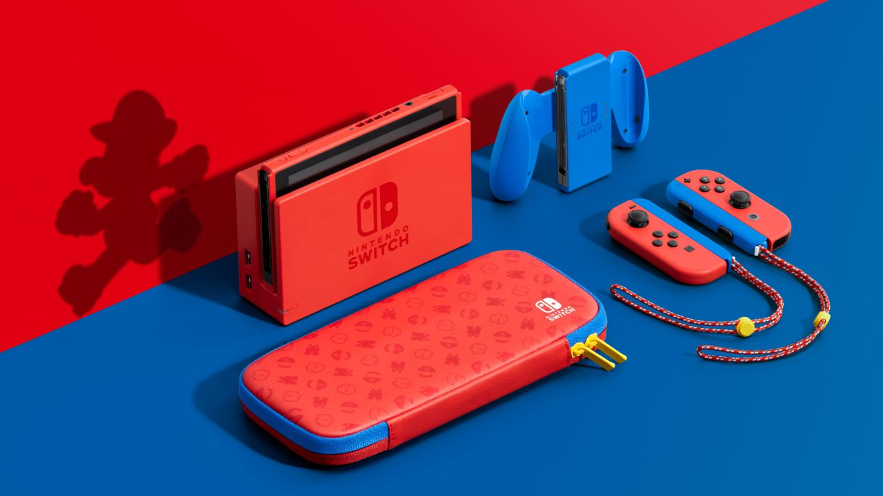 Annunciata Nintendo Switch Mario Red & Blue Edition, nuova colorazione della console!