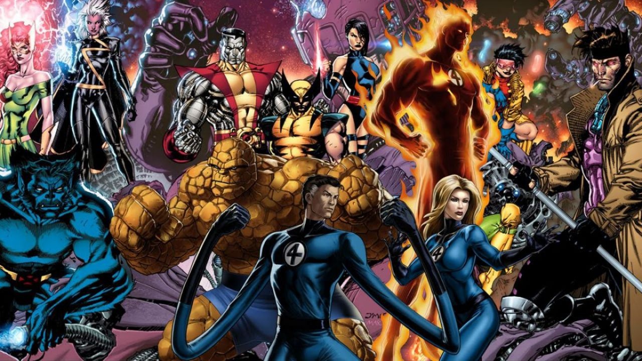 Annunciato un crossover tra i personaggi degli X-Men e i Fantastici Quattro