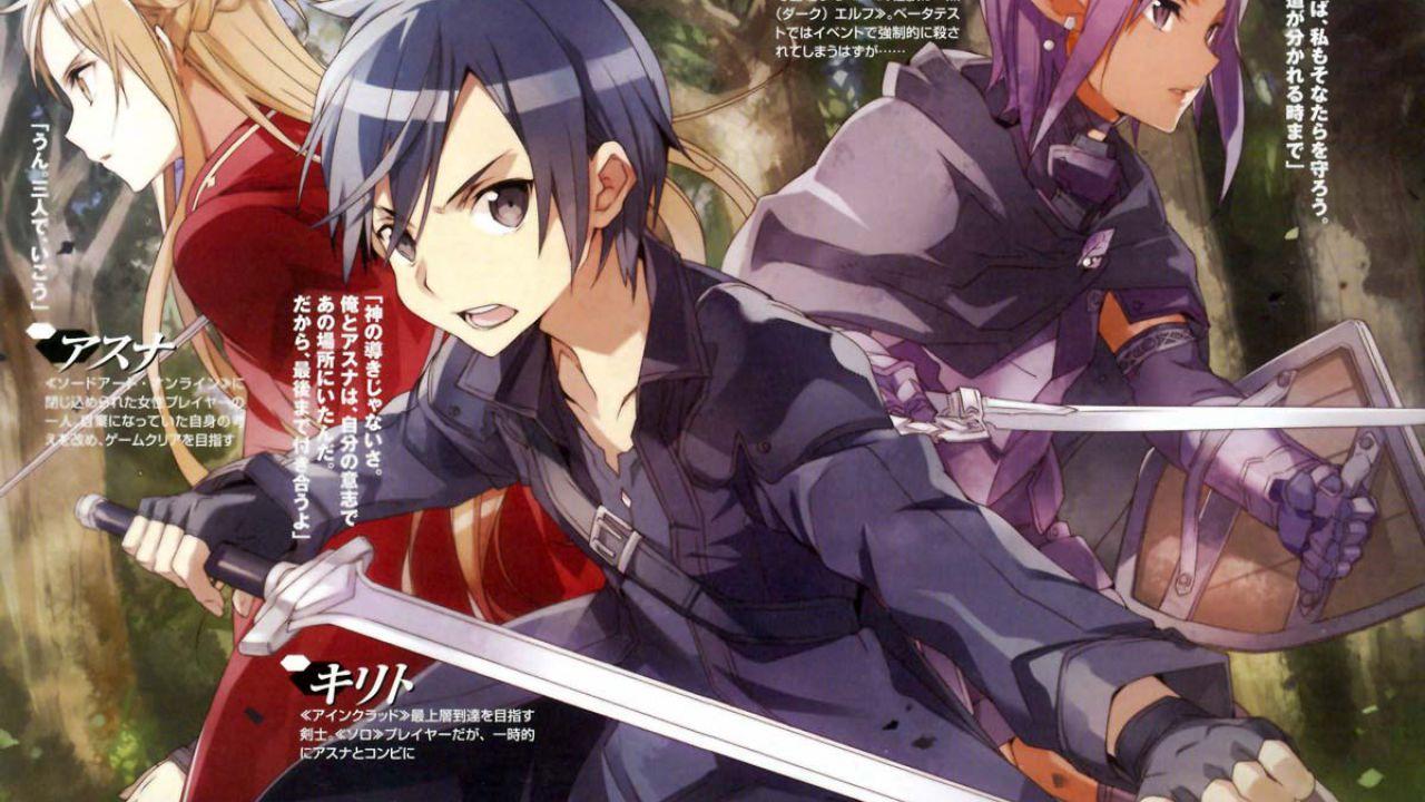 Annunciato un nuovo manga di Sword Art Online:Progressive