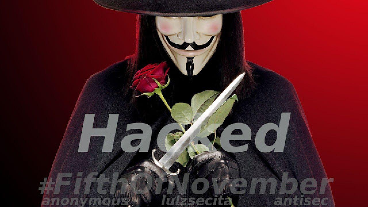 Anonymous Italia: attaccati i siti web di comuni, regioni e province