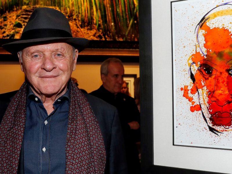 Anthony Hopkins: l'attore di Amistad racconta la sua passione segreta per la pittura