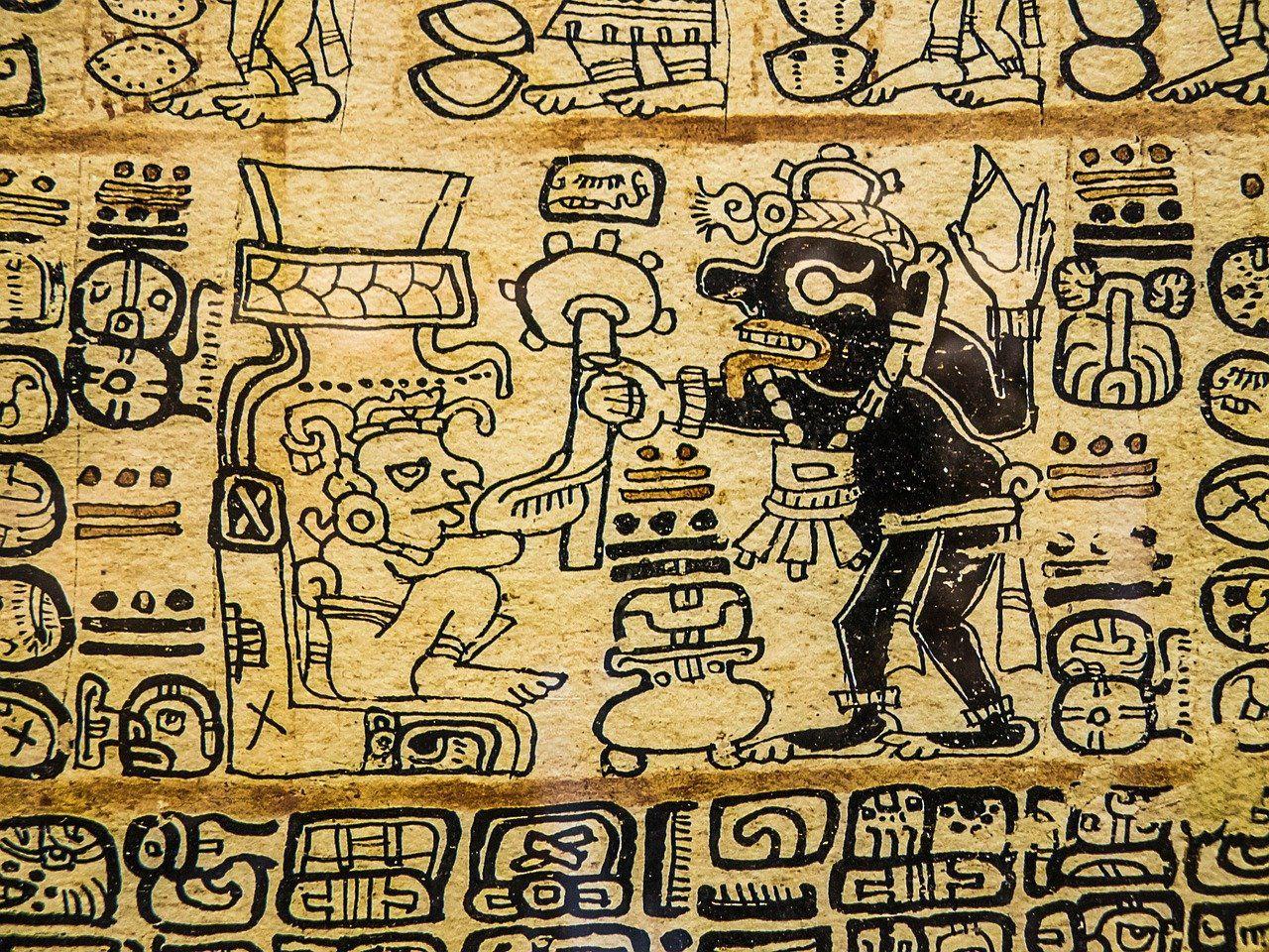 """Antichi testi Maya portano alla luce le """"Guerre Stellari"""""""