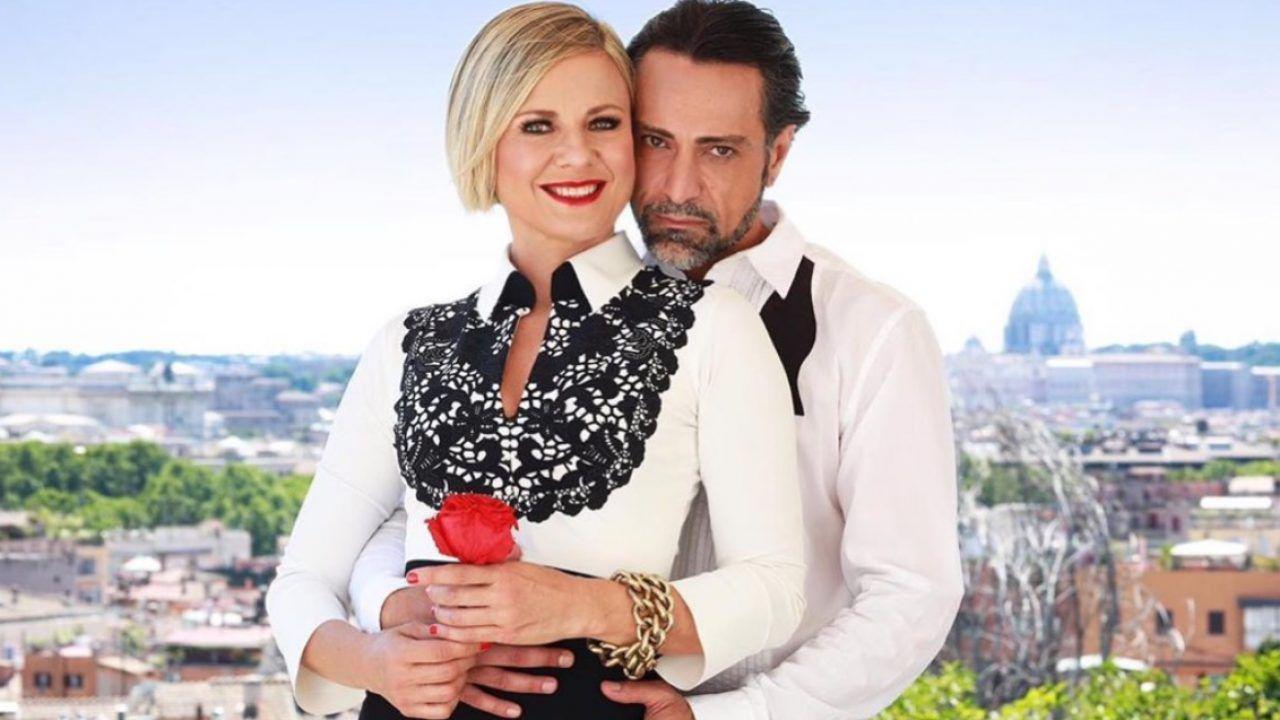 Antonella Elia e  Pietro Delle Piane paparazzati insieme dopo Temptation Island