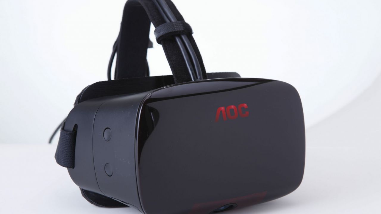 AOC presenta il suo primo display Head-mounted per la Realtà Virtuale