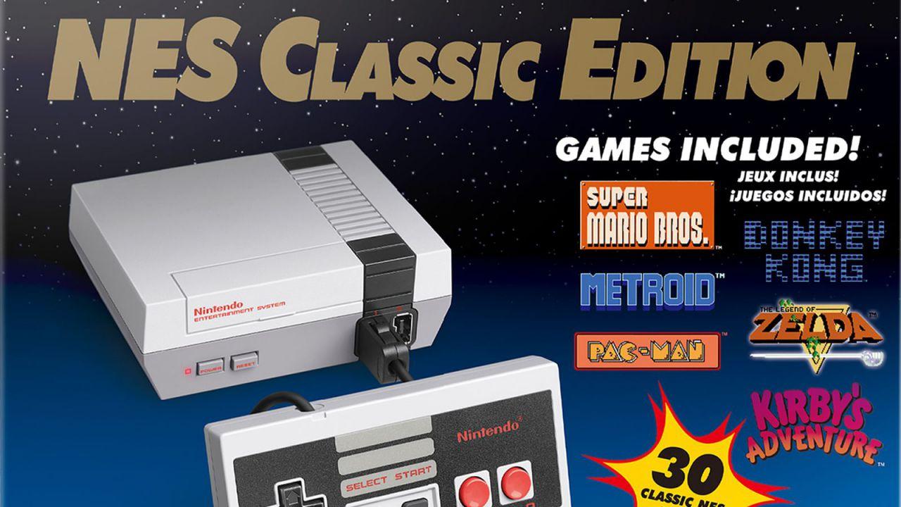 Aperti i preordini per il NES Classic Mini
