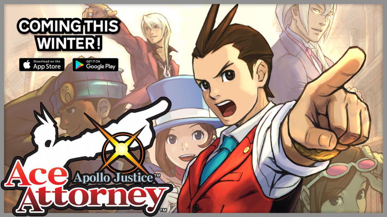 Apollo Justice: Ace Attorney: in arrivo le versioni per smarphone