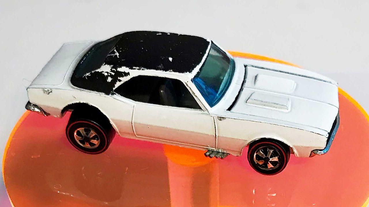 Appena ritrovato un modellino di Chevrolet Camaro dal valore di 100.000€