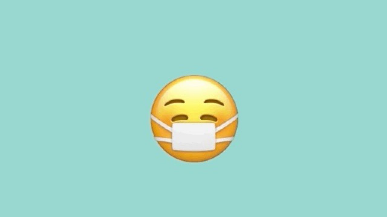 Apple aggiorna l'emoji con la mascherina: perchè essere tristi mentre la si indossa?