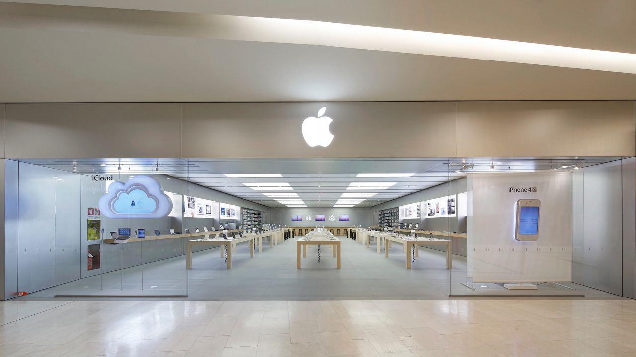 Apple chiude lo Store di Roma Est: sarà sostituito da quello di Via del Corso