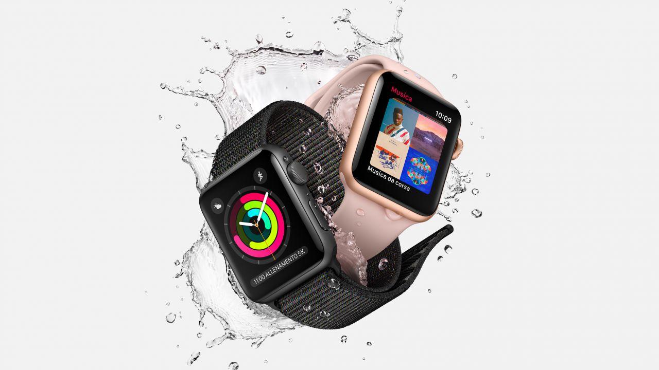 Apple interrompe la produzione di Apple Watch Series 2