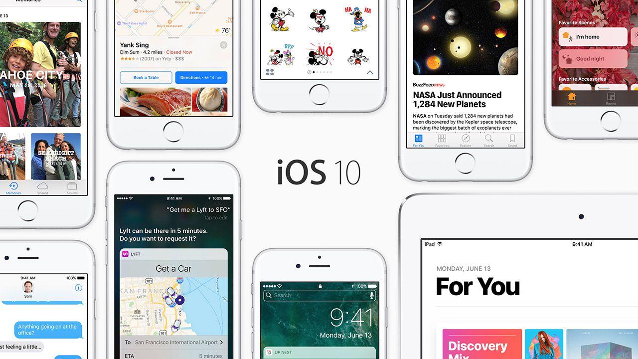 IOS 10 è sul 60% dei dispositivi Apple compatibili