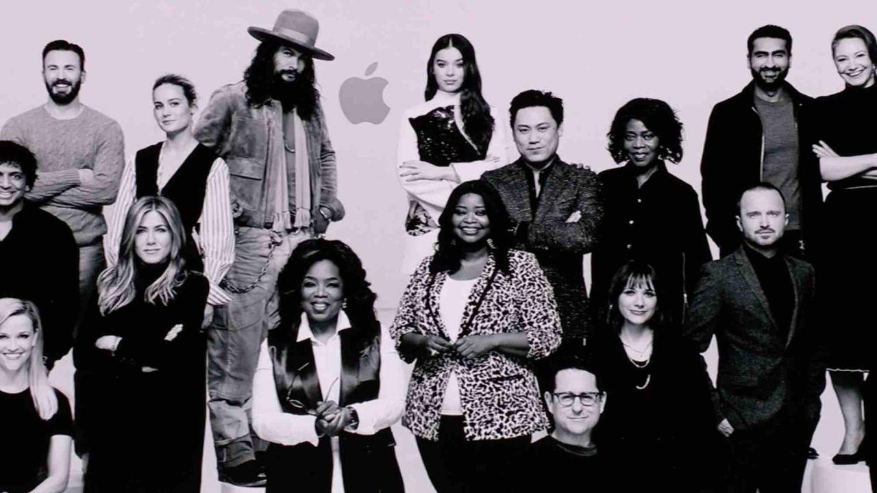 Apple TV+: la piattaforma di streaming di Apple. Sul palco anche Spielberg e JJ Abrams!