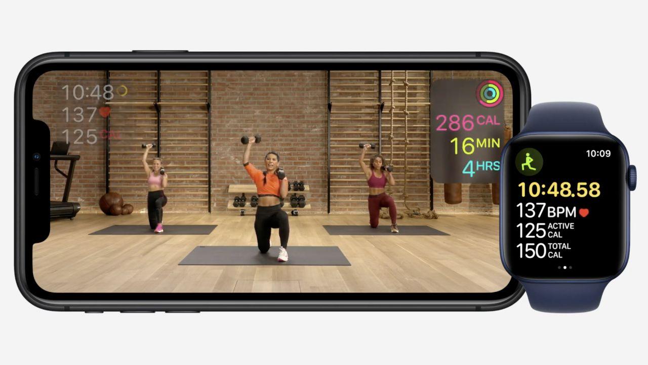 Apple vuole farvi tornare in forma con Apple Watch: ecco il servizio Apple Fitness+