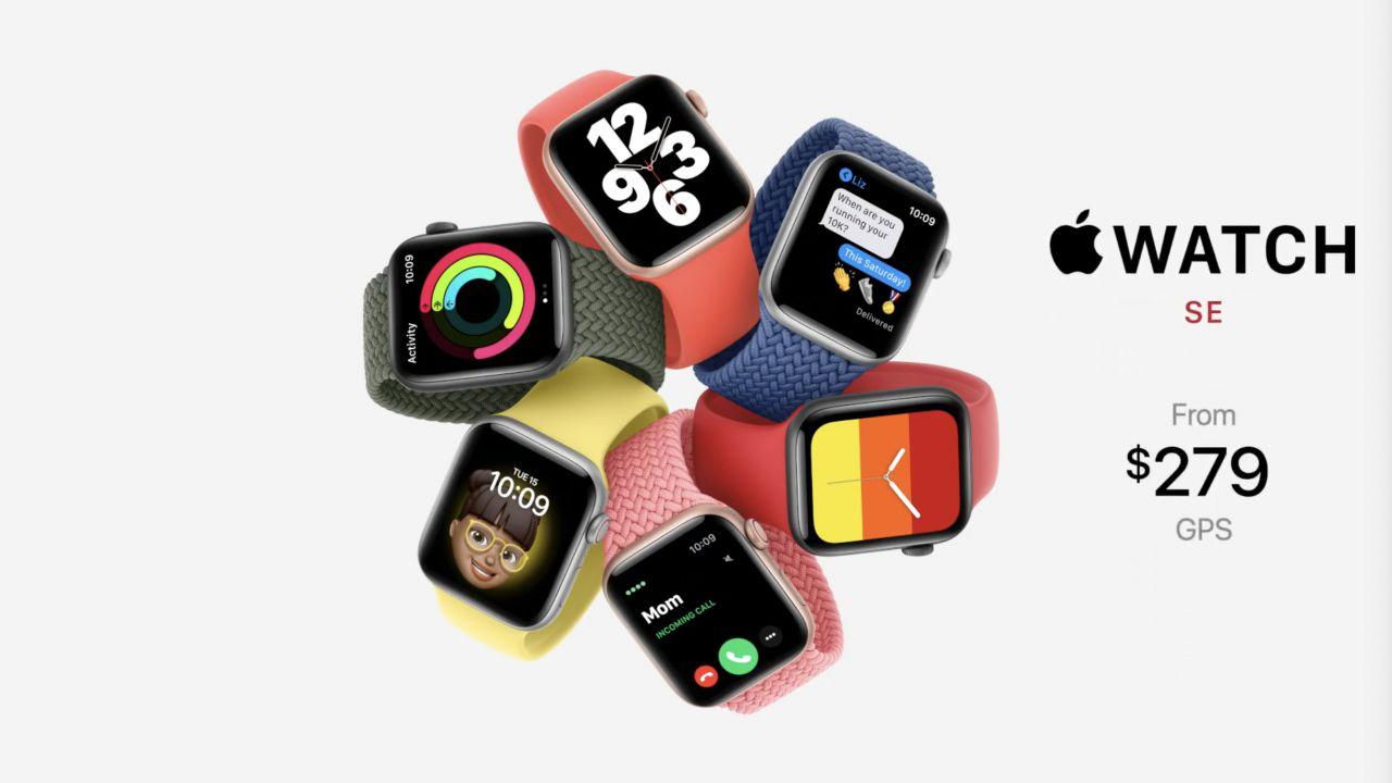 Apple Watch SE è finalmente ufficiale: ecco lo smartwatch low cost di Apple!