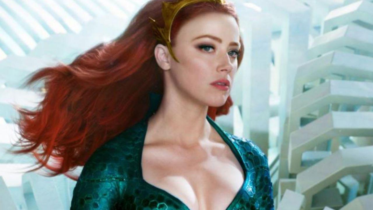 Aquaman, la Mera di Amber Heard diventa una statua incredibilmente realistica