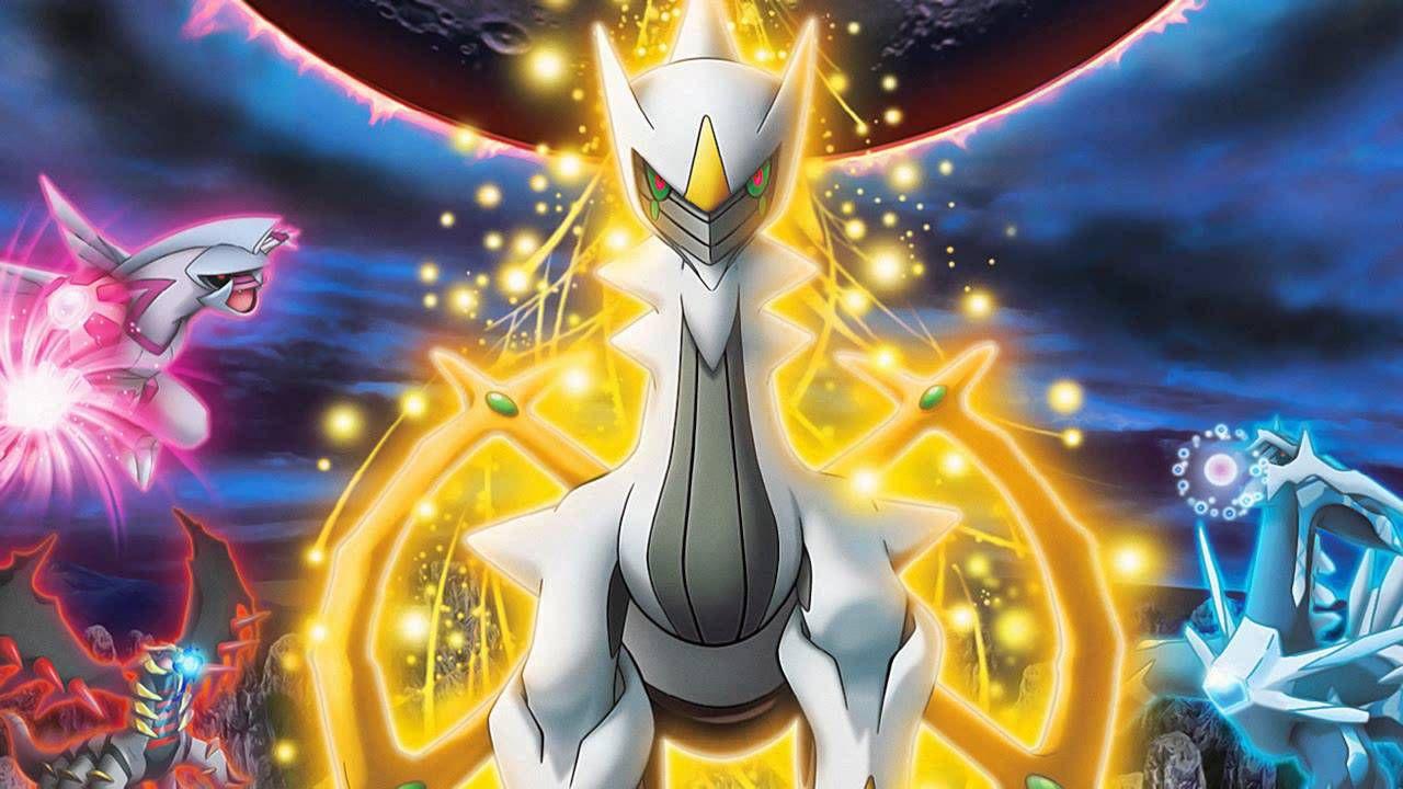 Arceus è adesso ottenibile gratuitamente su Pokemon X, Y, Zaffiro e Rubino