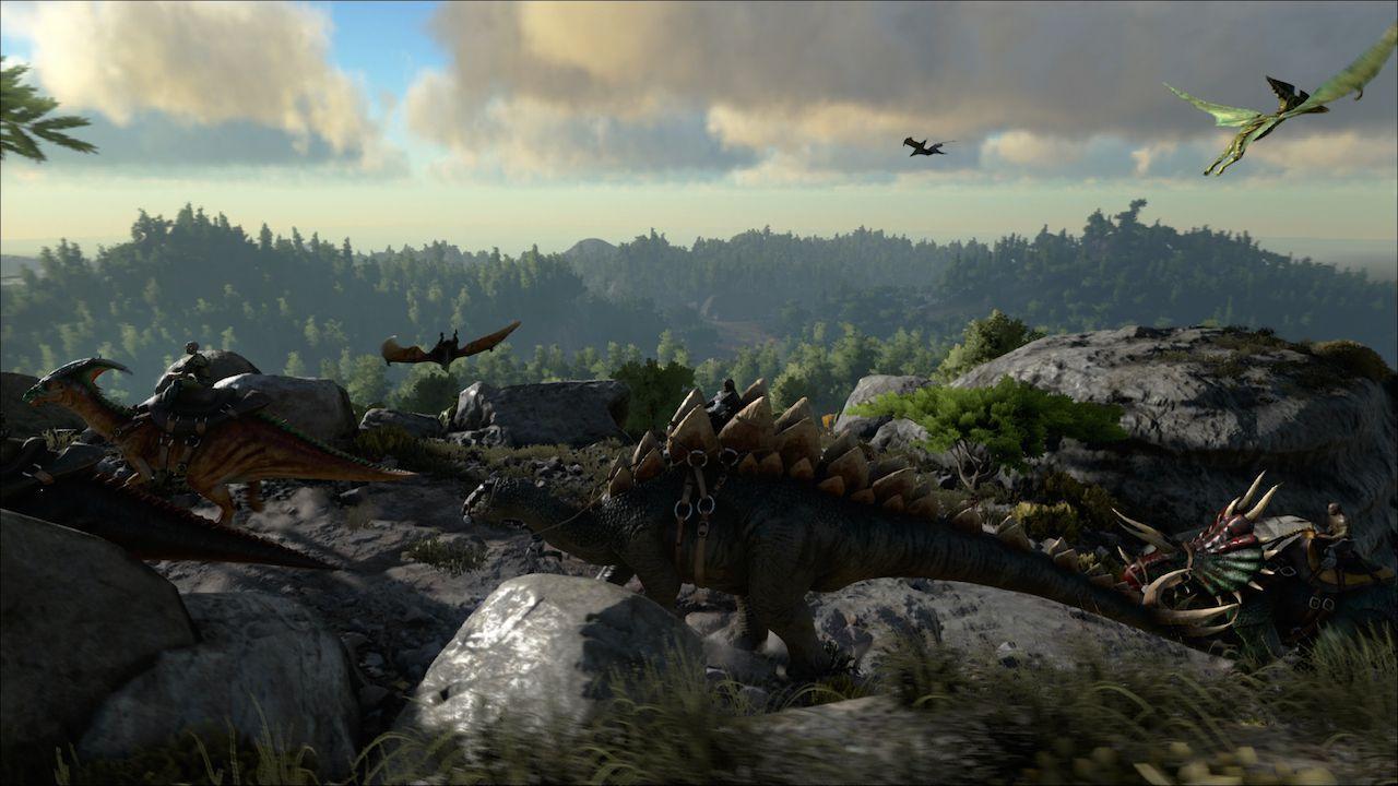 Ark Survival Evolved si prepara al debutto imminente su Xbox One