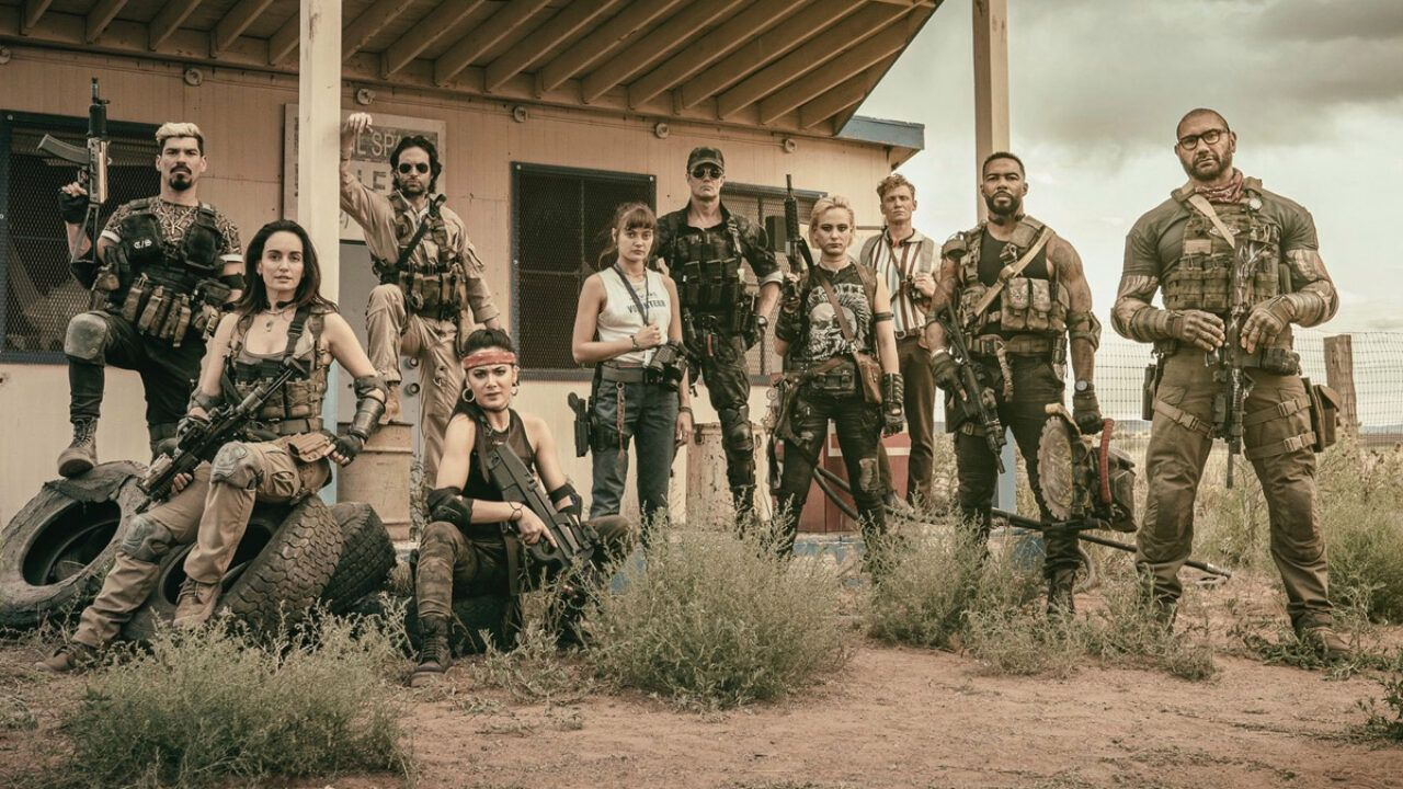 Army of the Dead, zombie e data di uscita nel primo poster del nuovo film di Zack Snyder
