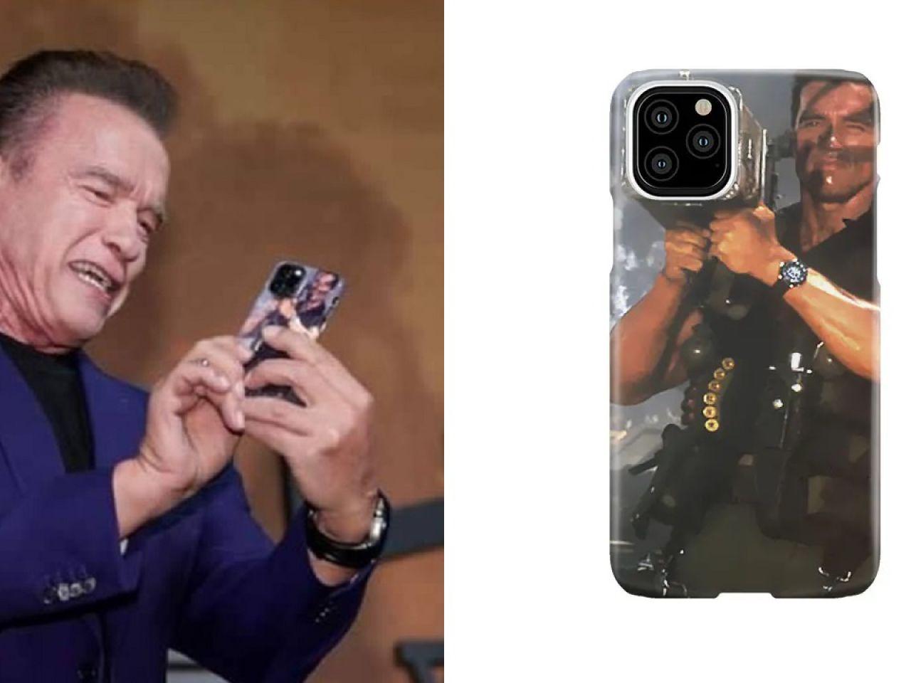 Arnold Schwarzenegger Ha Messo In Vendita La Sua Cover Ufficiale Per Iphone 11 Pro