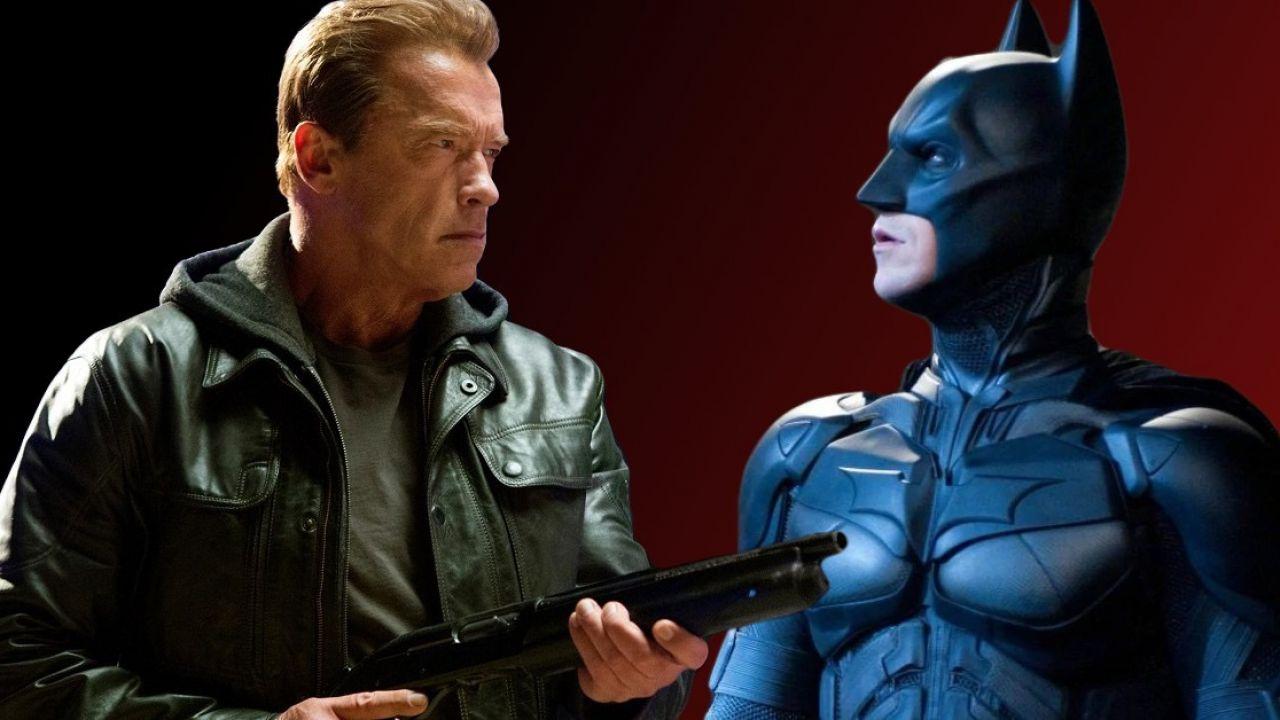 Arnold Schwarzenegger sfida Christian Bale nell'epico trailer per Batman v Terminator!
