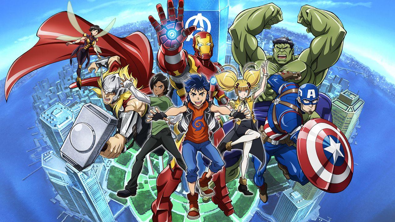 Arriva a maggio la seconda stagione di Future Avengers su Disney+