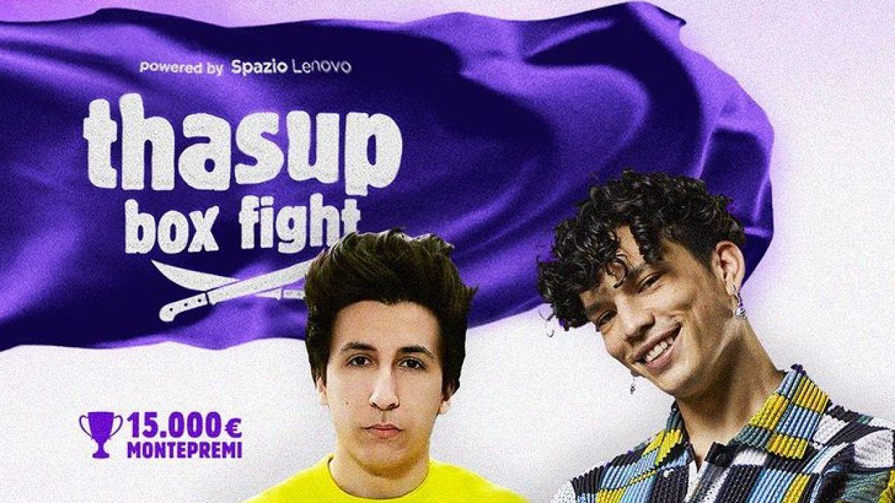 Arriva il primo Thasup Box Fight: il torneo di Fortnite firmato tha Supreme