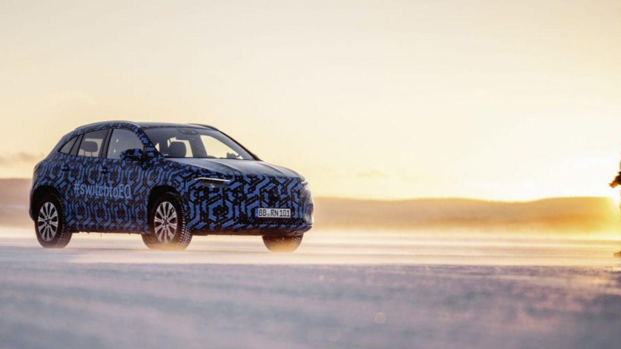 Arrivano le prime foto della Mercedes-Benz EQA: il crossover non tarderà ad arrivare
