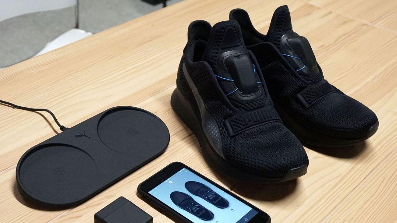 the latest f4dd3 b8f54 Arrivano le Puma Fi, le scarpe hi-tech che si allacciano da sole