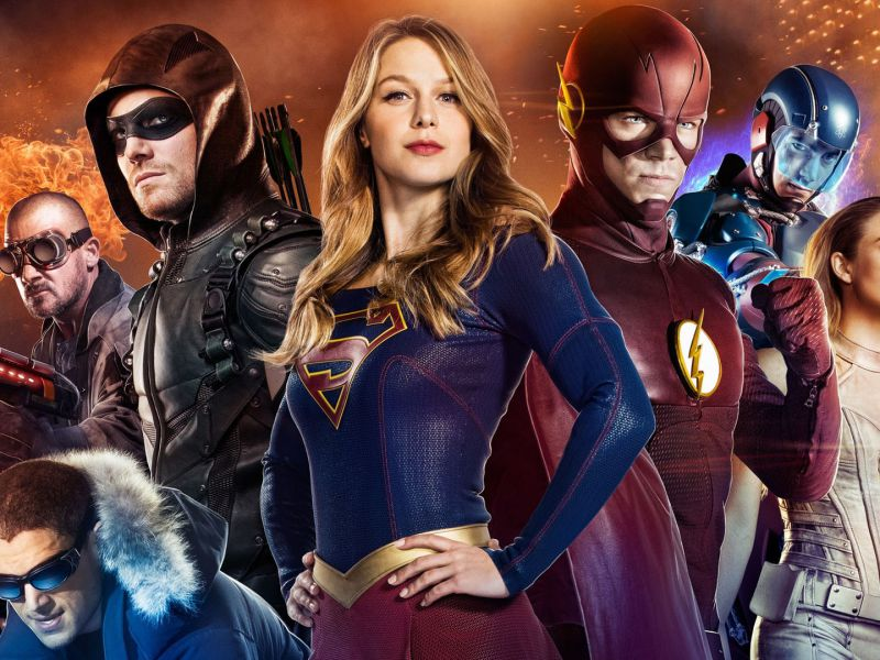 Arrowverse: Marc Gugghnehim in un film con i supereroi The CW? Ecco cosa ha detto