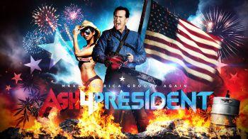 Ash vs. Evil Dead 2: lanciata la campagna presidenziale di Ash Williams!