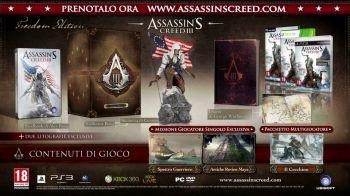 Assassin's Creed 3: i DLC arrivano su Wii U; 'La Redenzione' arriverà il 16 Maggio