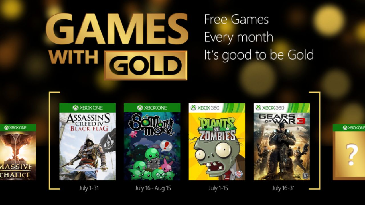 Assassin's Creed 4 Black Flag e Gears of War 3 tra i Games with Gold di luglio