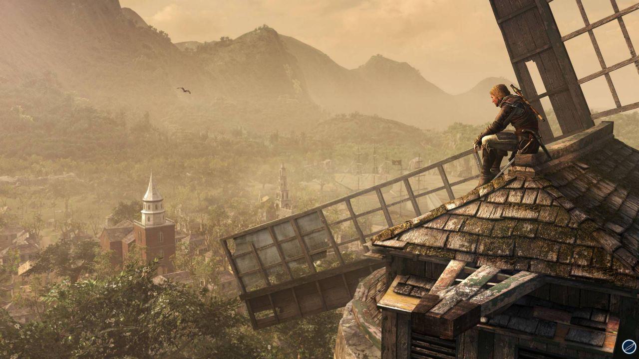 Assassin's Creed 4: Black Flag - un lungo video per la versione PS4